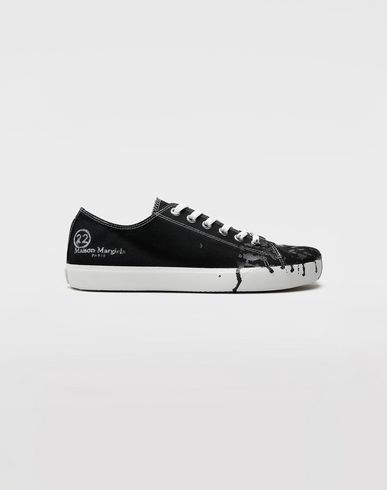 CHAUSSURES Sneakers Tabi 'Paint drop' Noir