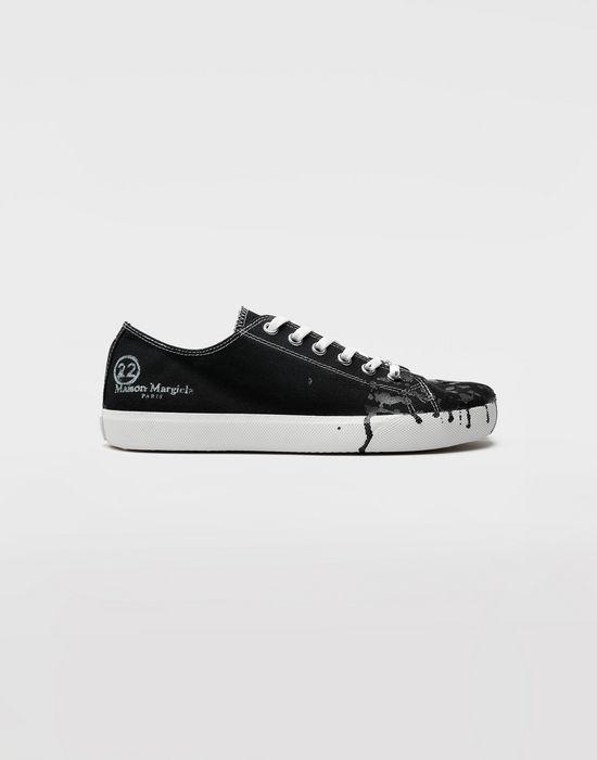 aa8852b4809 Maison Margiela Tabi Paint Drop Sneakers Men   Maison Margiela Store