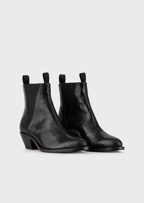 EMPORIO ARMANI Ankle Boots Woman r