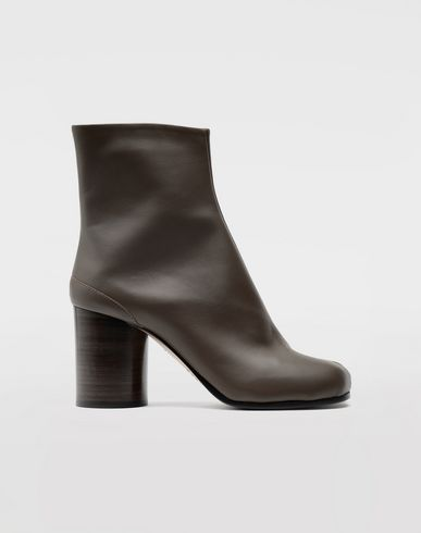 MAISON MARGIELA Tabi calfskin boots Ankle boots Woman f