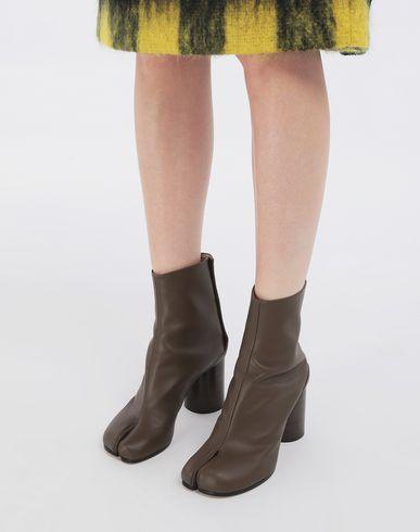 MAISON MARGIELA Ankle boots Woman Tabi calfskin boots r