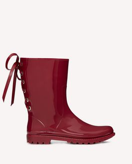 REDValentino BOTTINES DE PLUIE RED