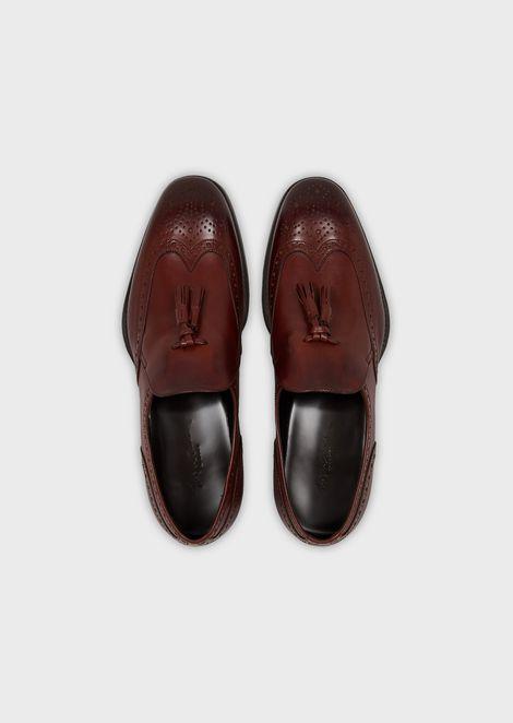 GIORGIO ARMANI Driving Shoes Man d