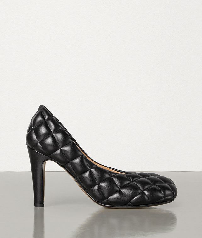 BOTTEGA VENETA PADDED BLOC PUMPS IN MATELASSÉ NAPPA DREAM Pump Woman fp