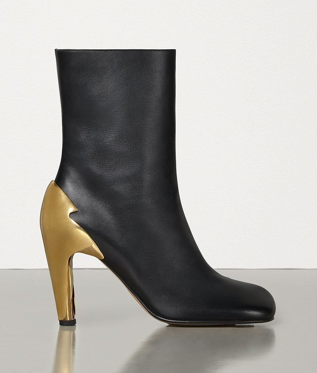 BOTTEGA VENETA BLOC BOOTS IN SHINY CALF Boots Woman fp