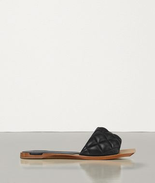 PADDED FLAT SANDALS IN NAPPA DREAM