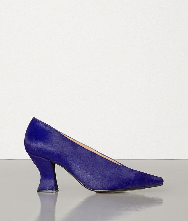 BOTTEGA VENETA ALMOND PUMPS IN PONY LUX Pump Woman fp