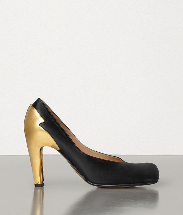 BOTTEGA VENETA BLOC PUMPS IN SHINY CALFSKIN Pump Woman fp