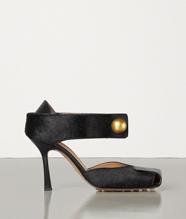 BOTTEGA VENETA PUMPS IN SHINY CALF AND HAIR CALF Pump Woman fp