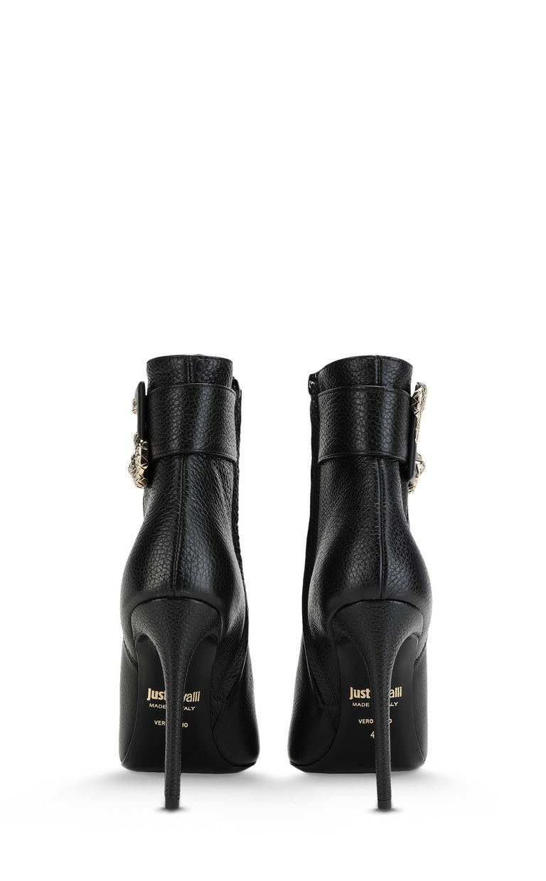 JUST CAVALLI Snake-buckle ankle boot Ankle boots Woman d