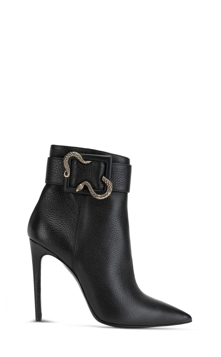 JUST CAVALLI Snake-buckle ankle boot Ankle boots Woman f