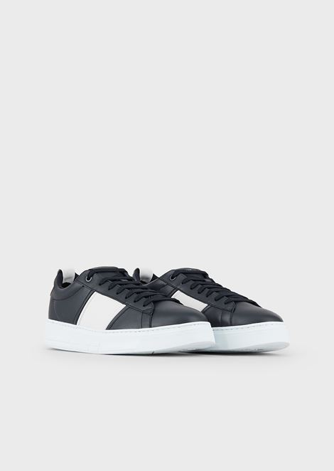 Travel Essential leather sneakers
