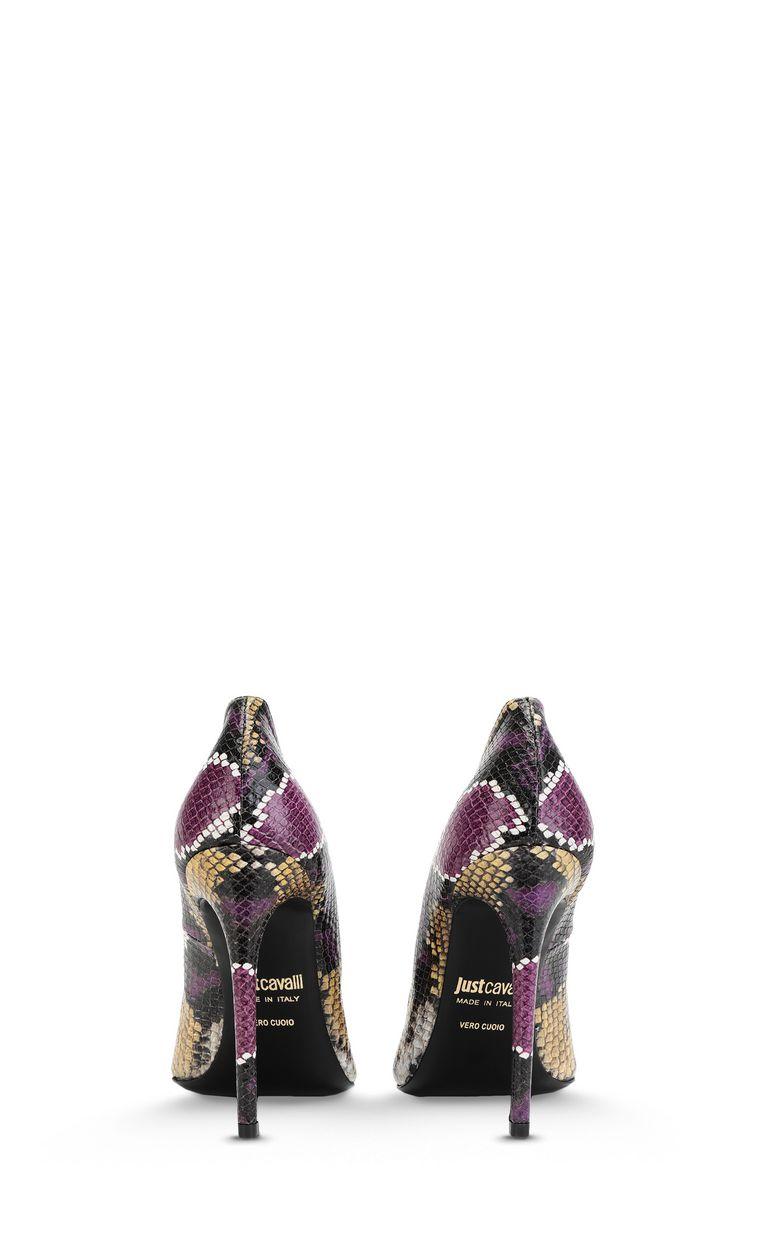 JUST CAVALLI Python-print court shoe Pump Woman d