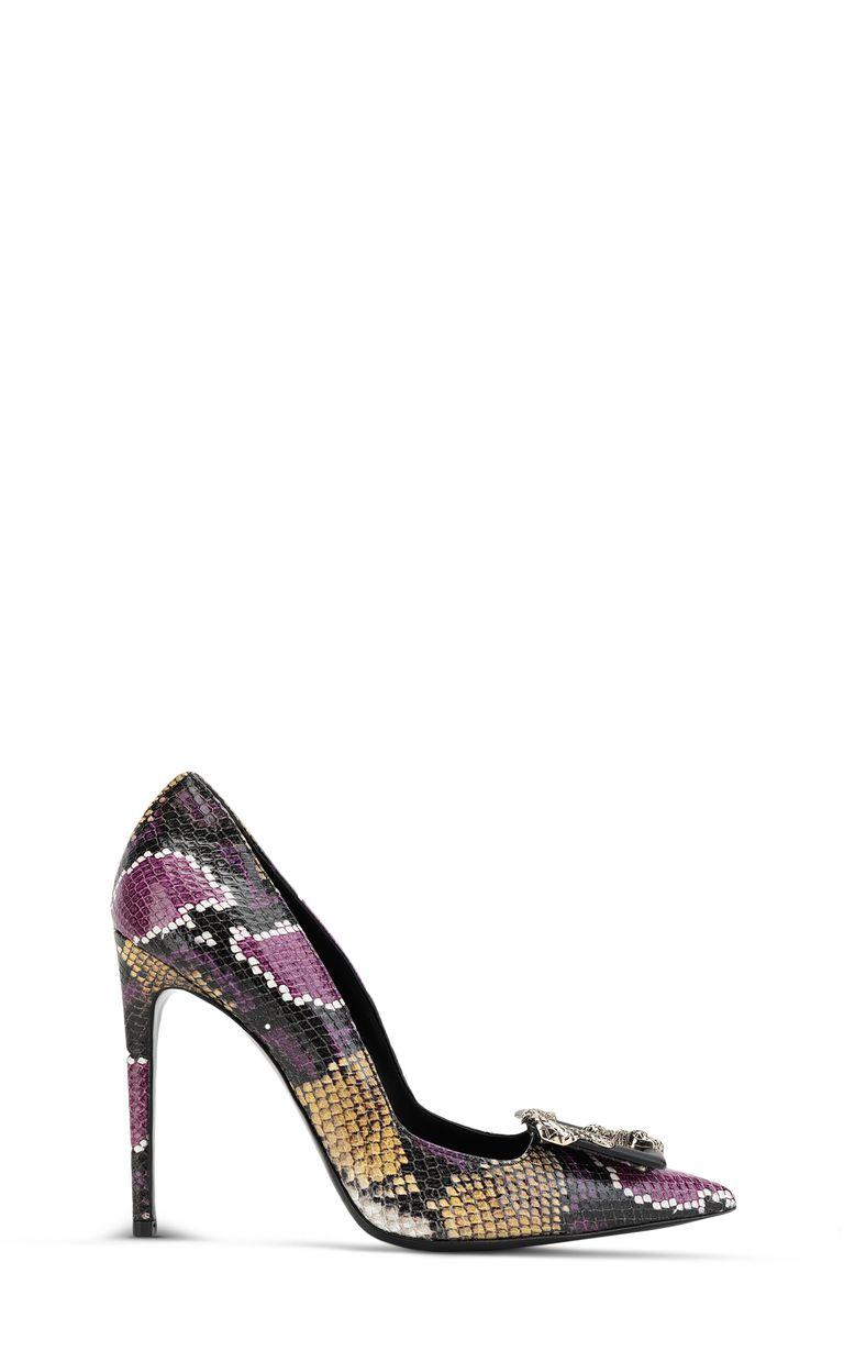 JUST CAVALLI Python-print court shoe Pump Woman f