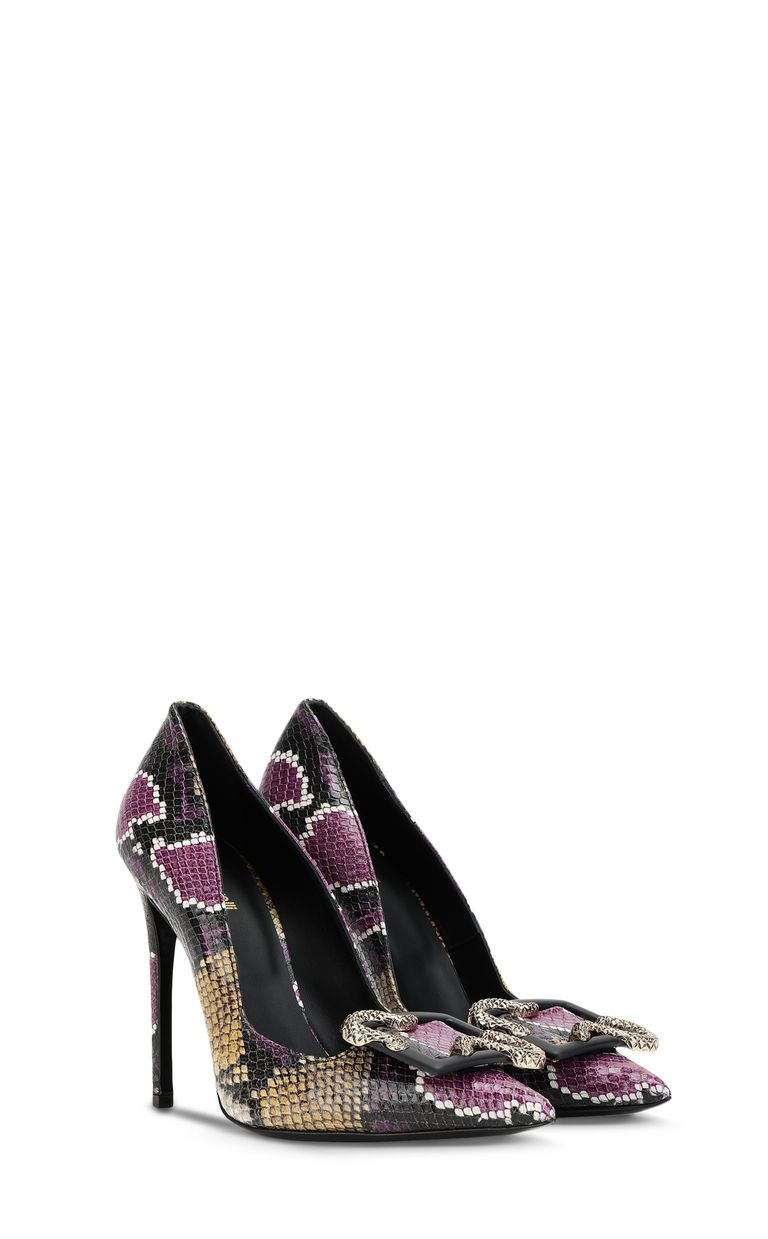 JUST CAVALLI Python-print court shoe Pump Woman r