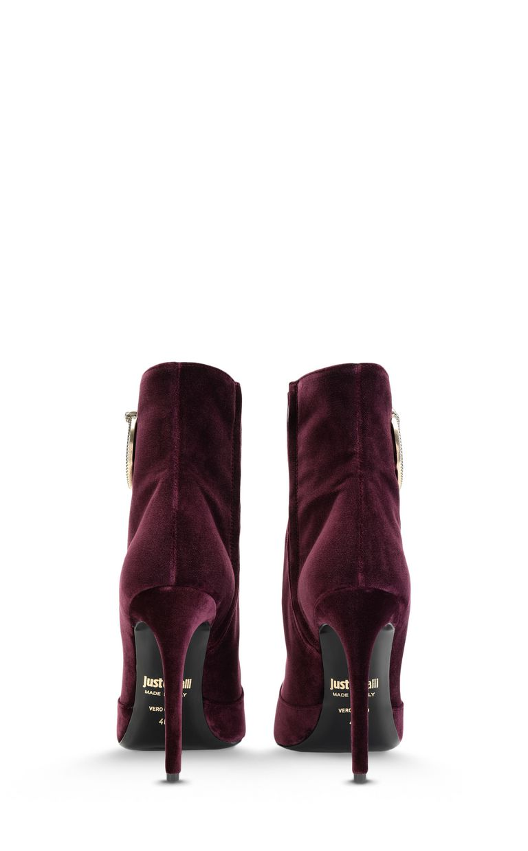 JUST CAVALLI Ankle boot with logoed buckle Ankle boots Woman d