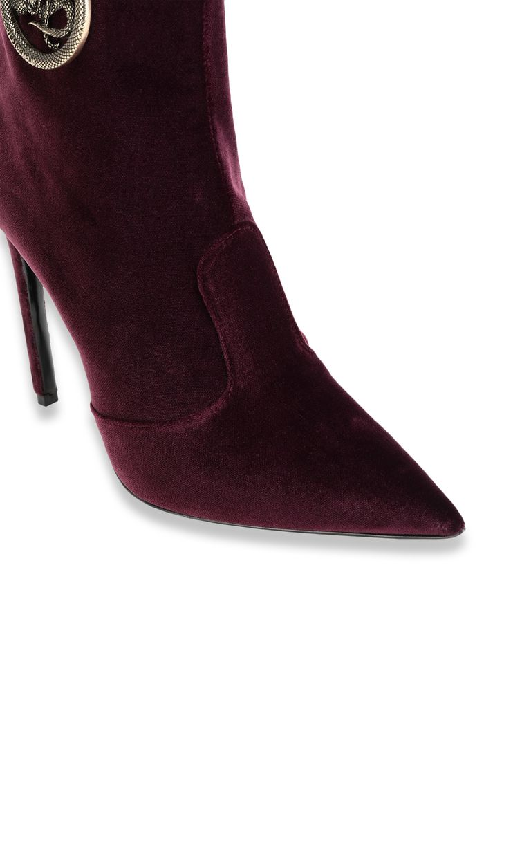 JUST CAVALLI Ankle boot with logoed buckle Ankle boots Woman e