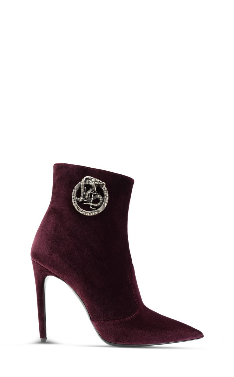 JUST CAVALLI Ankle boot with logoed buckle Ankle boots Woman f