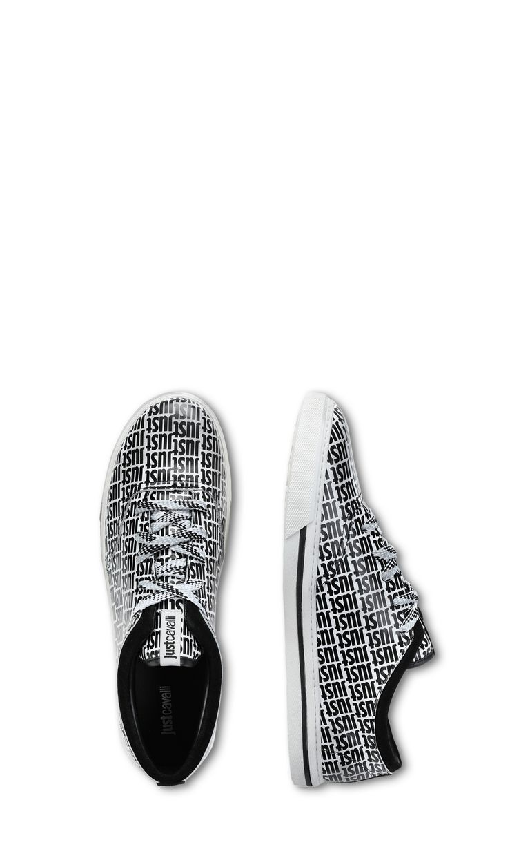 JUST CAVALLI Sneakers with logo detail Sneakers Man d