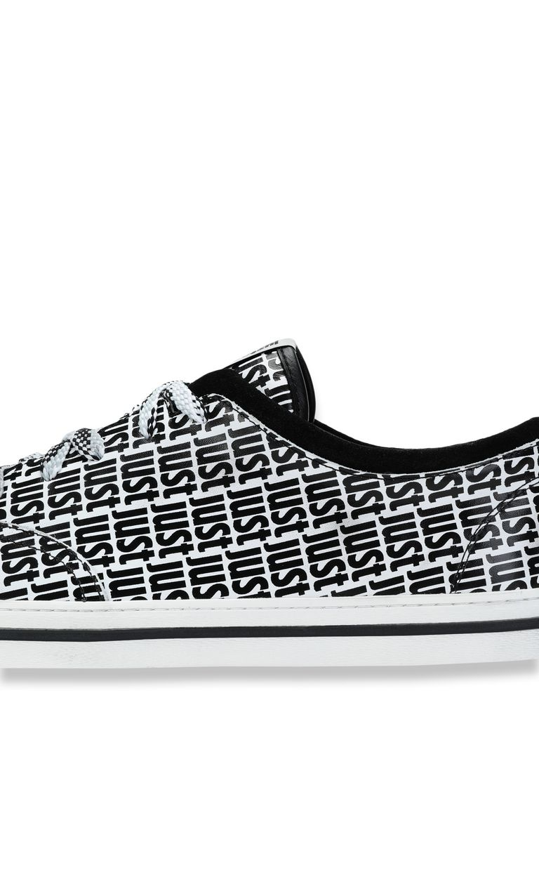 JUST CAVALLI Sneakers with logo detail Sneakers Man e