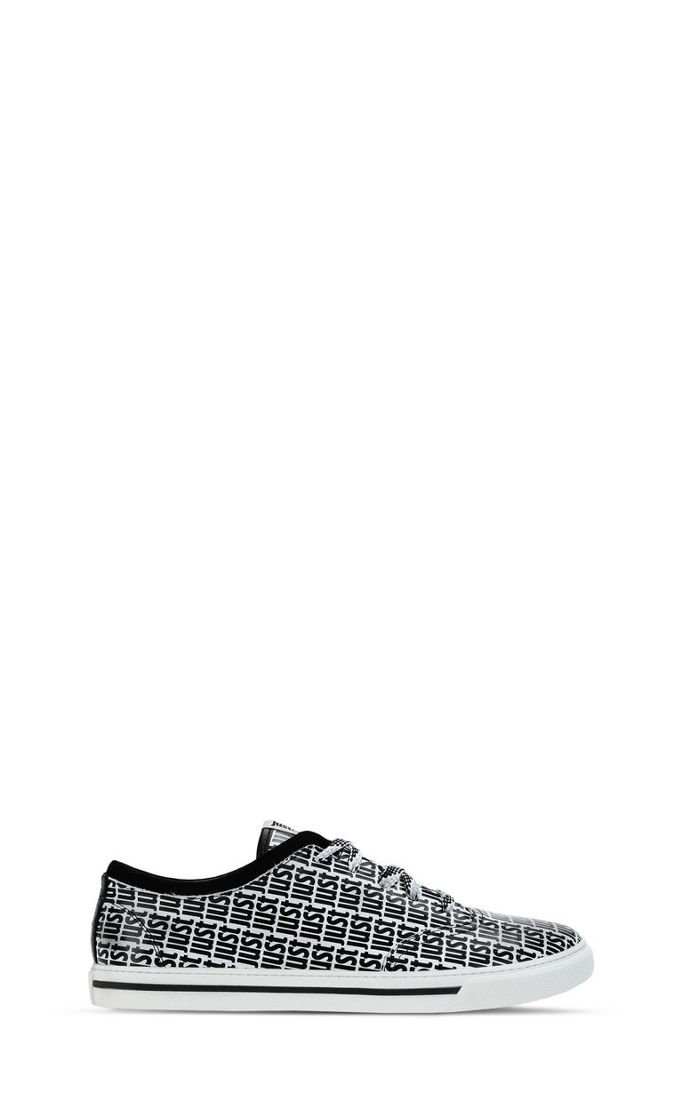 JUST CAVALLI Sneakers with logo detail Sneakers Man f