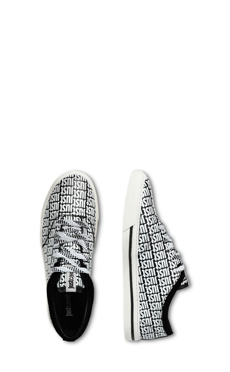 JUST CAVALLI Leather sneaker Sneakers Woman d