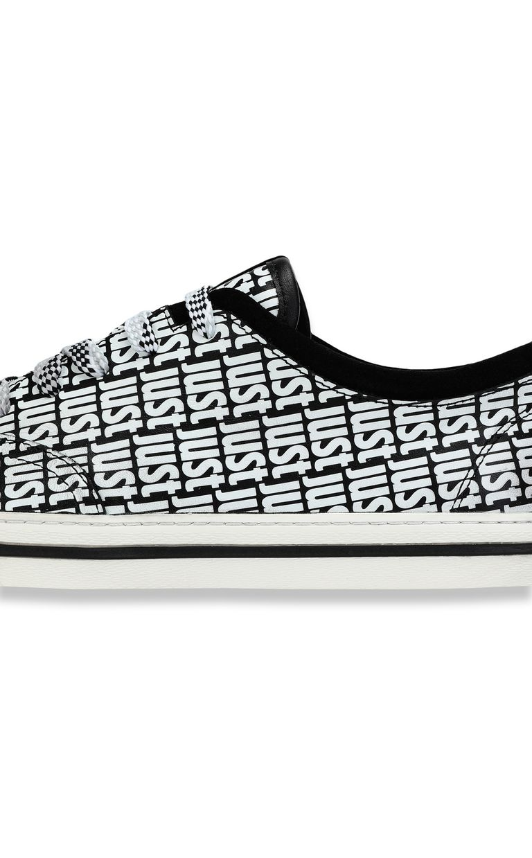 JUST CAVALLI Leather sneaker Sneakers Woman e