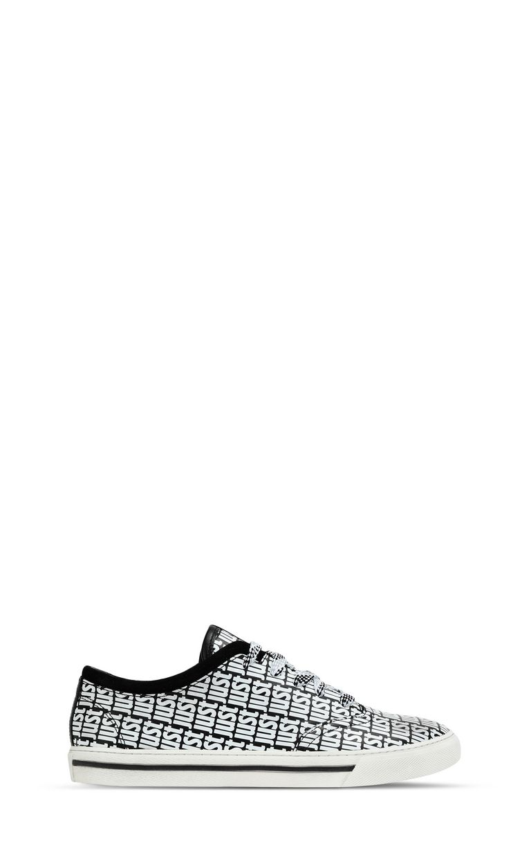 JUST CAVALLI Leather sneaker Sneakers Woman f