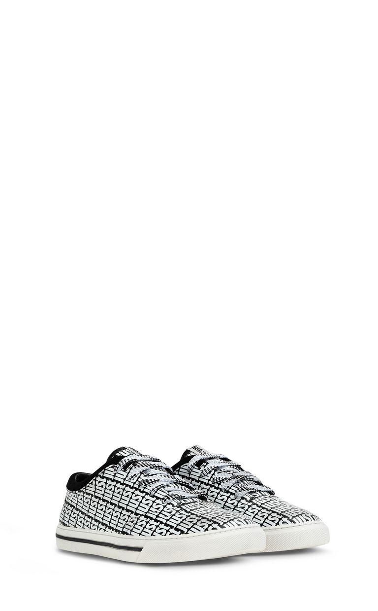JUST CAVALLI Leather sneaker Sneakers Woman r