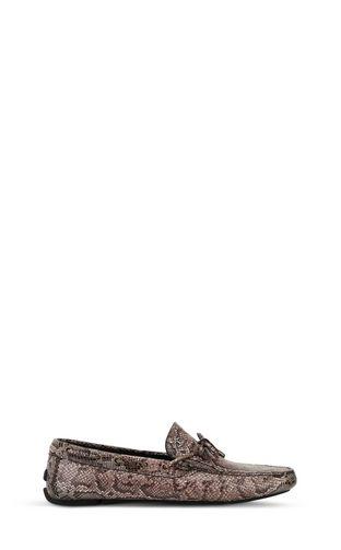JUST CAVALLI Sneakers Man Zebra-effect high-top sneaker f