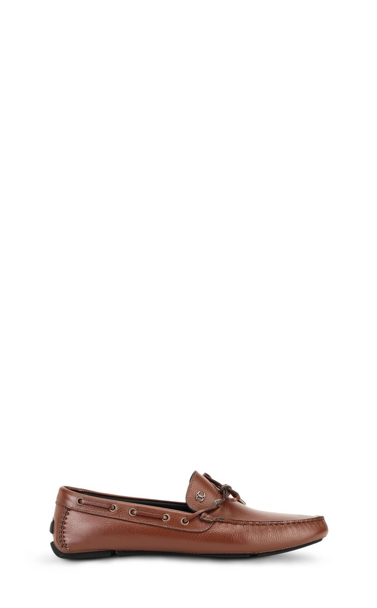 JUST CAVALLI Leather loafer Moccassins Man f