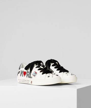 KARL LAGERFELD SKOOL JEWEL BADGE SNEAKER