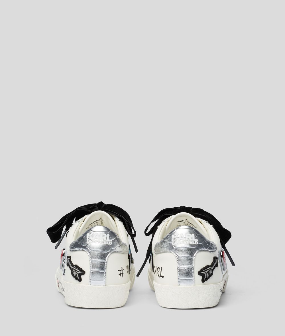 KARL LAGERFELD Skool Jewel Badge Sneaker Sneakers Woman d