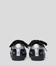 KARL LAGERFELD Skool Sneaker mit Applikationen und Ziersteinen 9_f