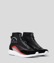 KARL LAGERFELD Vitesse Neo Sock Zipped Boot Sneakers Woman a