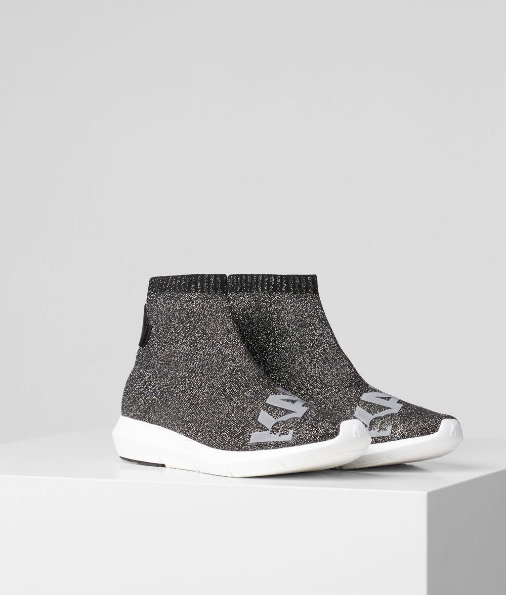 KARL LAGERFELD Трикотажные ботинки Vitesse с логотипом Кеды и кроссовки Для Женщин f
