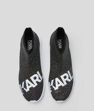 KARL LAGERFELD Трикотажные ботинки Vitesse с логотипом 9_f