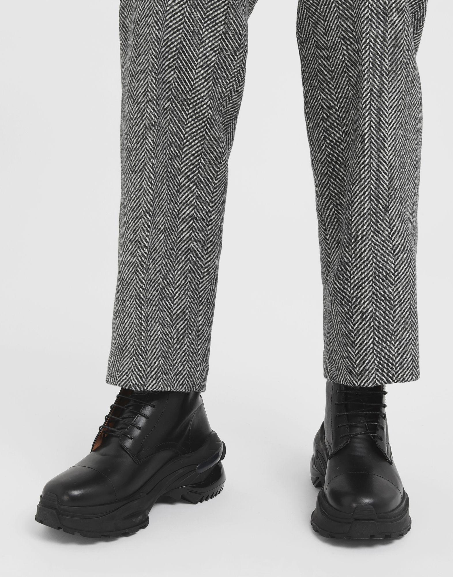 MAISON MARGIELA Leather combat boots Ankle boots Man r