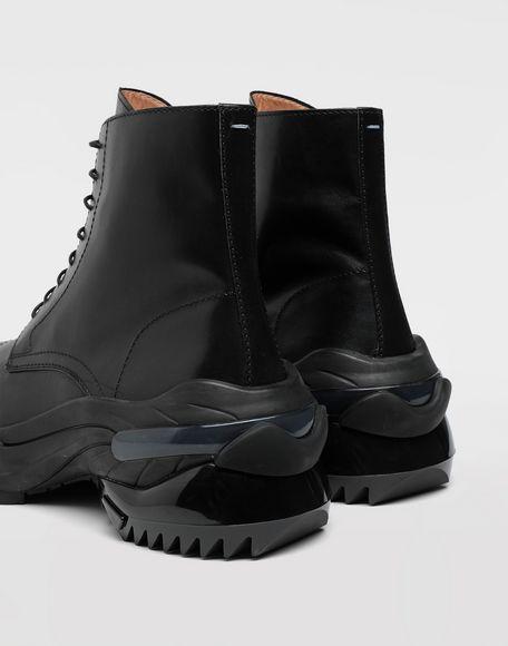 MAISON MARGIELA Leather combat boots Ankle boots Man b