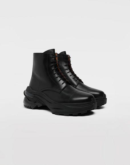 MAISON MARGIELA Leather combat boots Ankle boots Man d