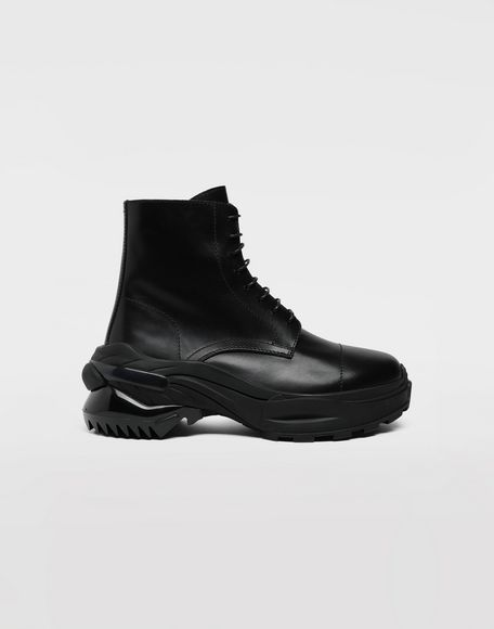 MAISON MARGIELA Leather combat boots Ankle boots Man f