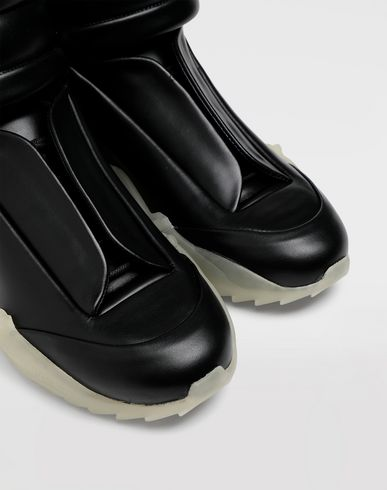 SHOES Future high-top leather sneakers Black