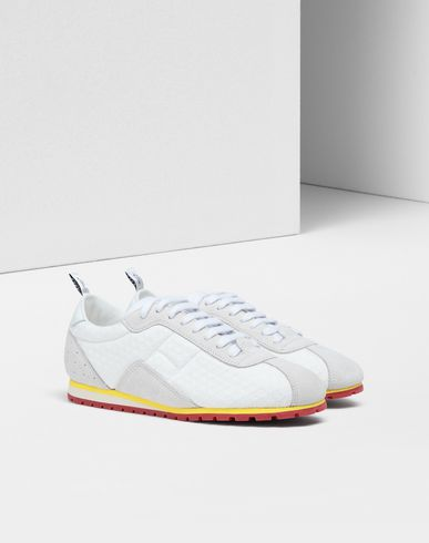 SHOES Pull-tab sneakers White