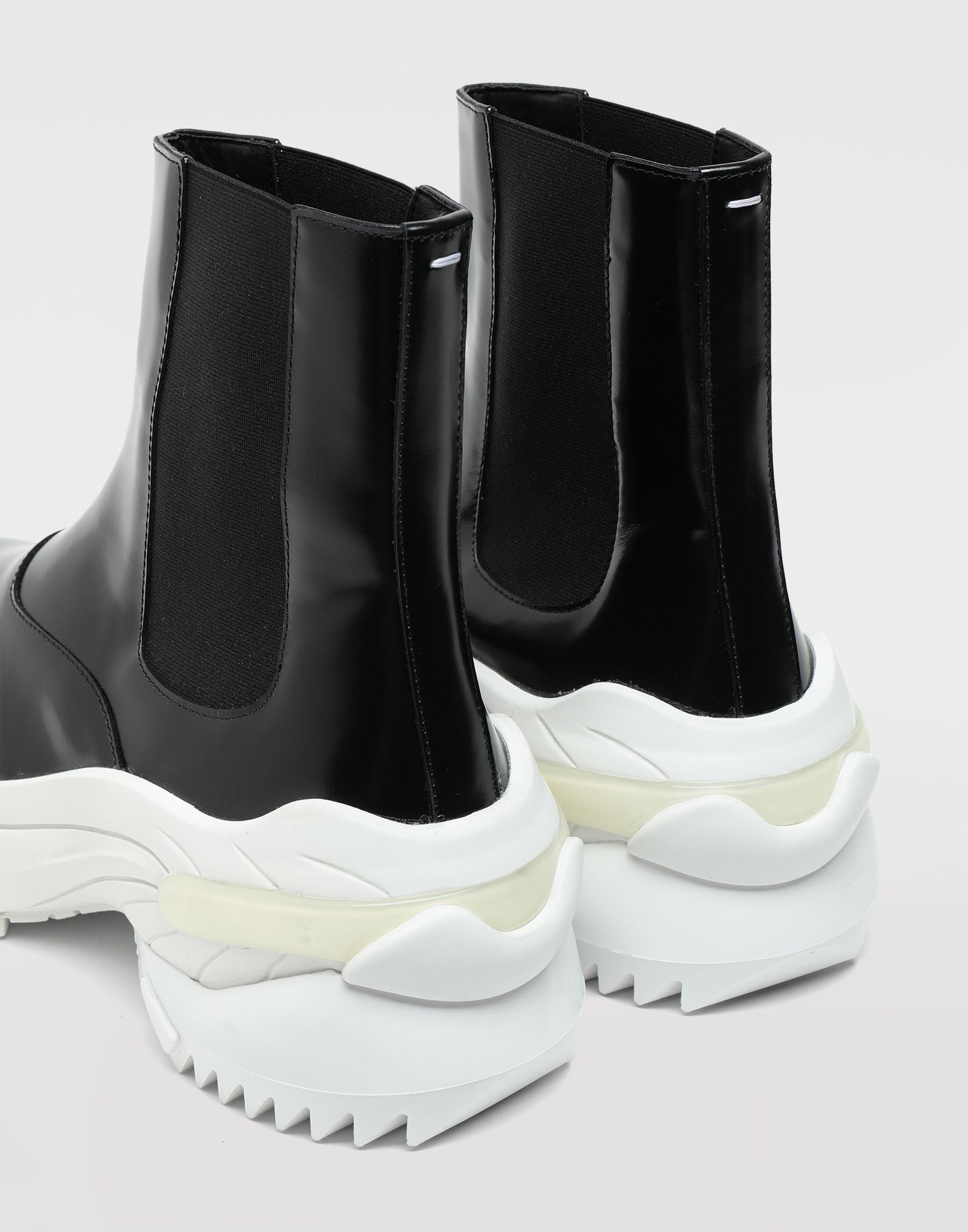 MAISON MARGIELA Leather ankle boots Sneakers Woman b