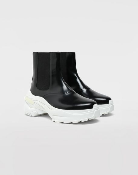 MAISON MARGIELA Leather ankle boots Sneakers Woman d