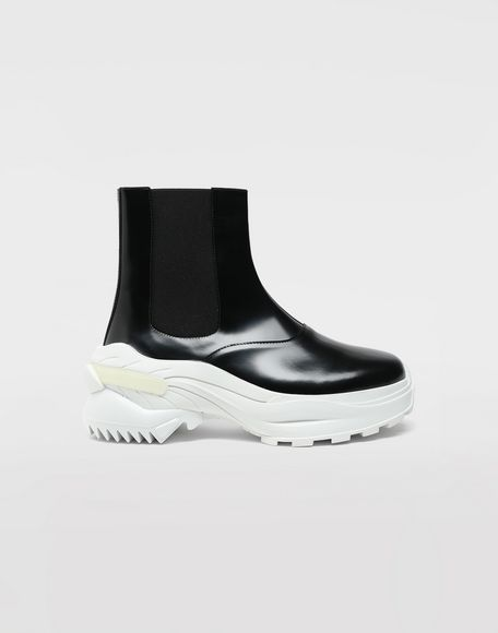 MAISON MARGIELA Leather ankle boots Sneakers Woman f