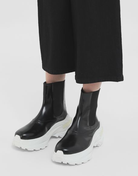 MAISON MARGIELA Leather ankle boots Sneakers Woman r
