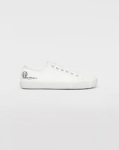 SHOES Tabi paint drop sneakers White