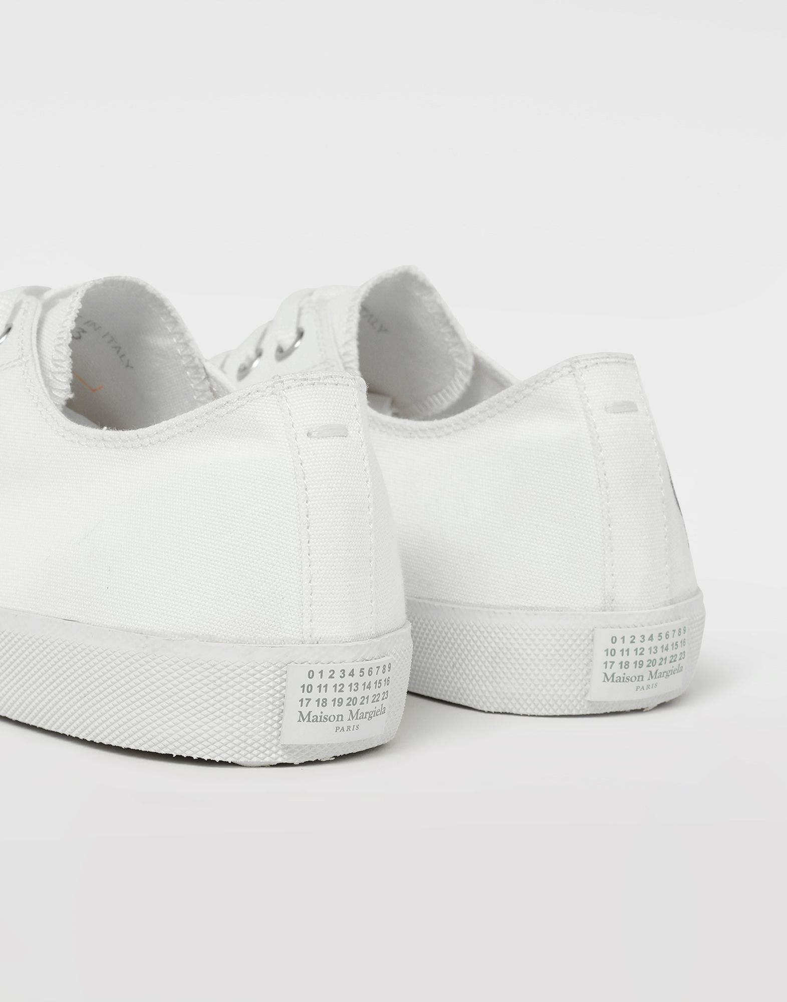 MAISON MARGIELA Tabi paint drop sneakers Sneakers Tabi Man a