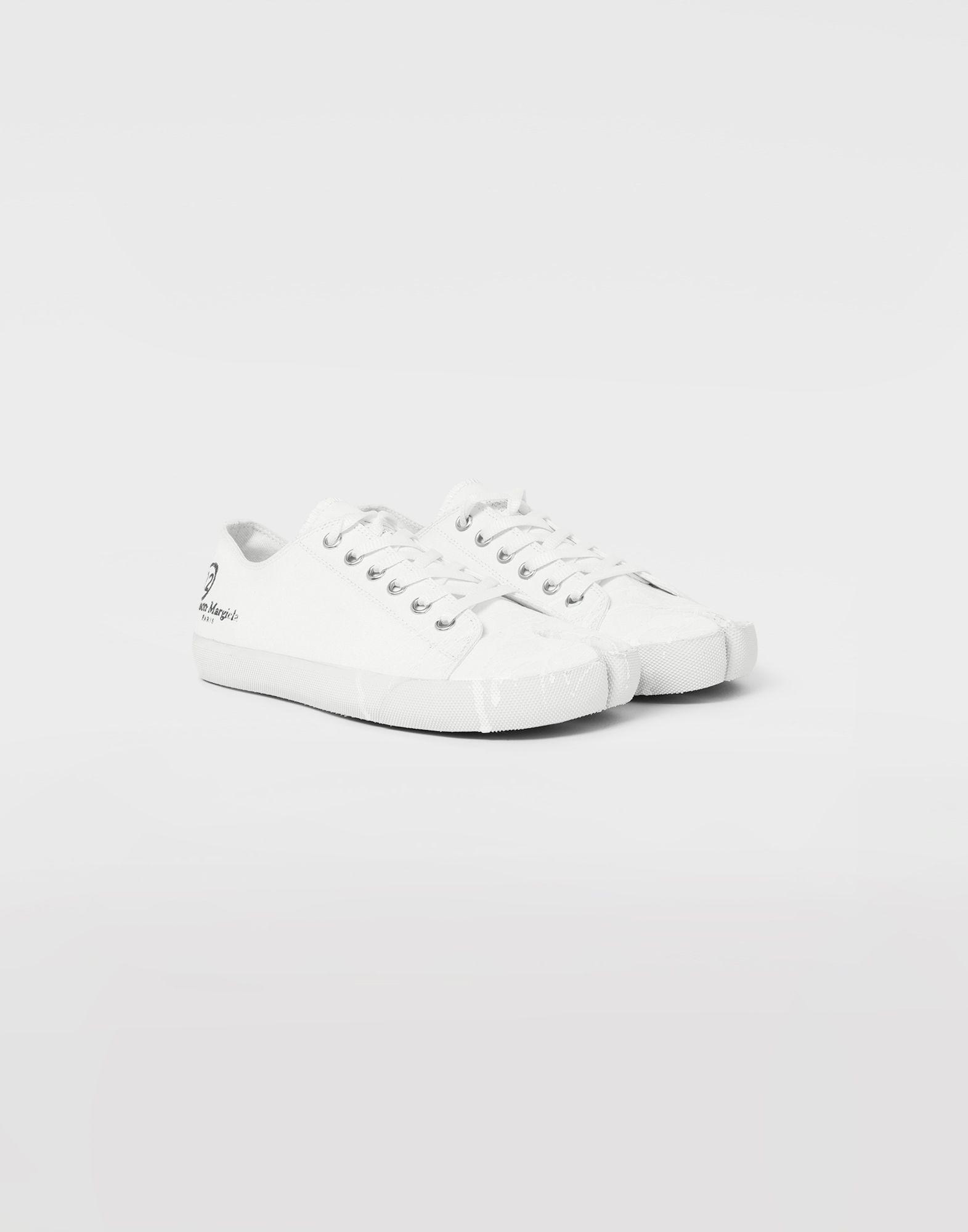 MAISON MARGIELA Tabi paint drop sneakers Sneakers Tabi Man d